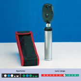 Heine K180 Ophthalmoscope in Pouch Set