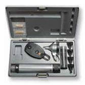 HEINE BETA 200 Dual ENT Set: Otoscope (F.O) / Ophthalmoscope Set with Multi-Purpose Illuminator